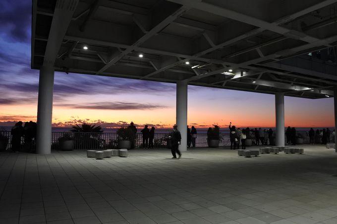 写真撮影なら1階の東口広場へ行こう!