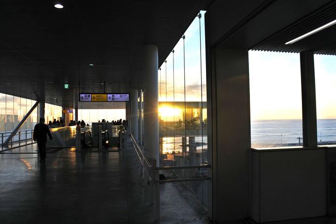 海が見える日立駅では絶景初日の出が見られる!