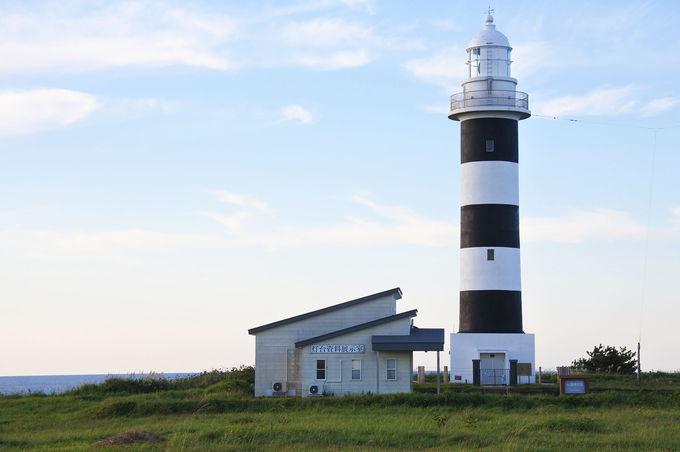 100年を超えて海を守る「入道崎灯台」