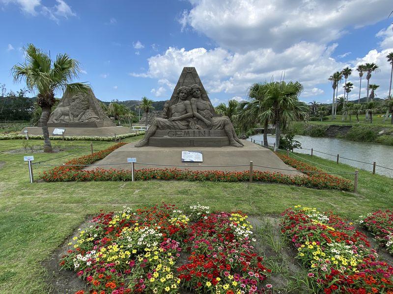 巨大な砂像が圧巻!千葉・館山ファミリーパークで立体アート鑑賞