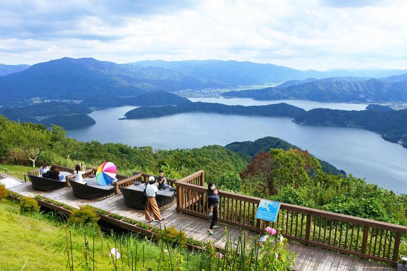 三方五湖と日本海を一望!福井「天空のテラス」は360度の絶景空間