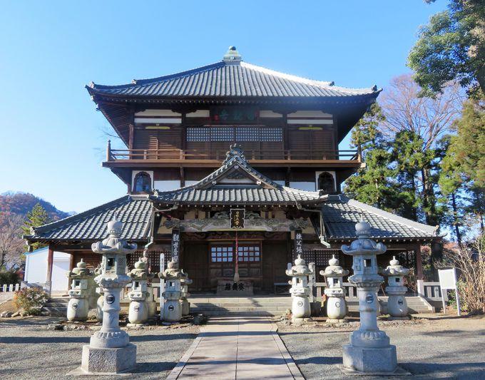 国指定重要文化財の「さざえ堂」