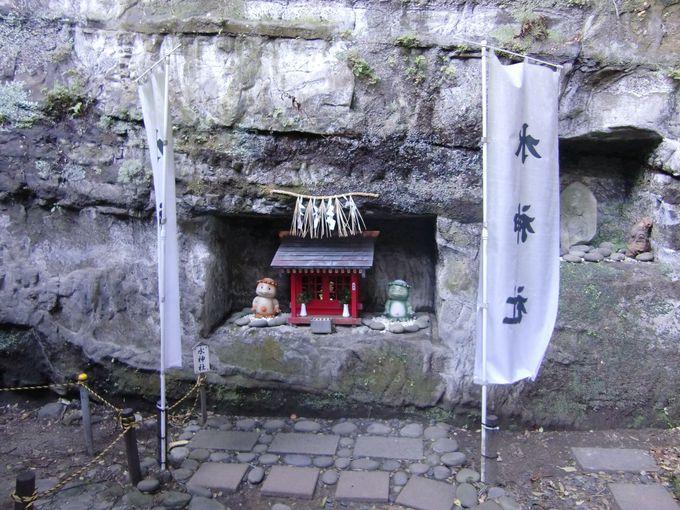 仕事運開運のパワスポ、河童伝説!、裏山の3社「走水神社」