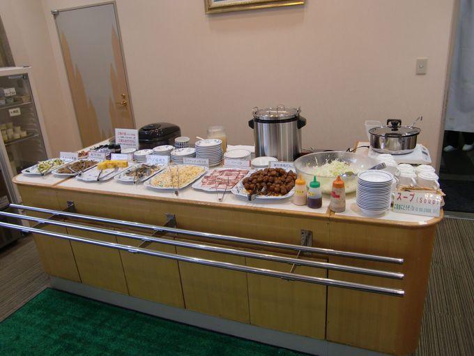 無料朝食はバイキング!夕食は提携店でのプランも!「ホテルフォルクローロ大湊」