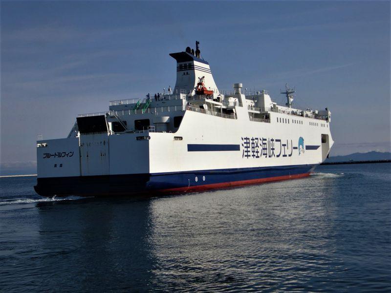 4隻就航!3時間40分の船旅!「津軽海峡ロード」