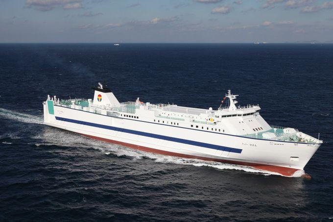 2016年に4隻全て新造船に入替!オーシャン東九フェリー
