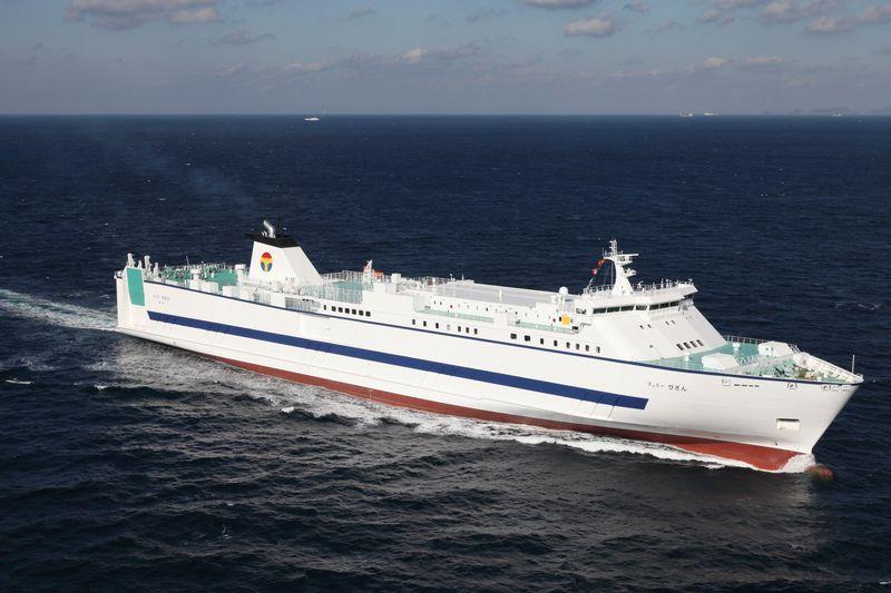 東京港からフェリーで徳島へ!「フェリーびざん」