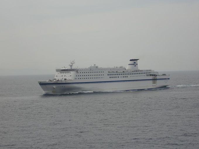 仙台港では一時上陸可能!福島県沖では「きそ」との行合も!