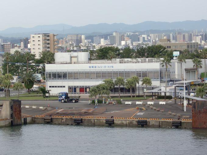 シーガイア・宮崎市街を眺めながら入港!
