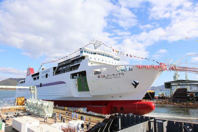 2018年4月に新造船「シルバーティアラ」が就航!