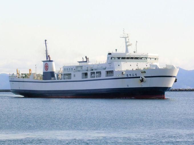 3時間50分の津軽海峡船景色!