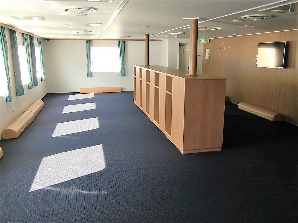 青函フェリーで初の個室・ステートルーム付き!「はやぶさ」