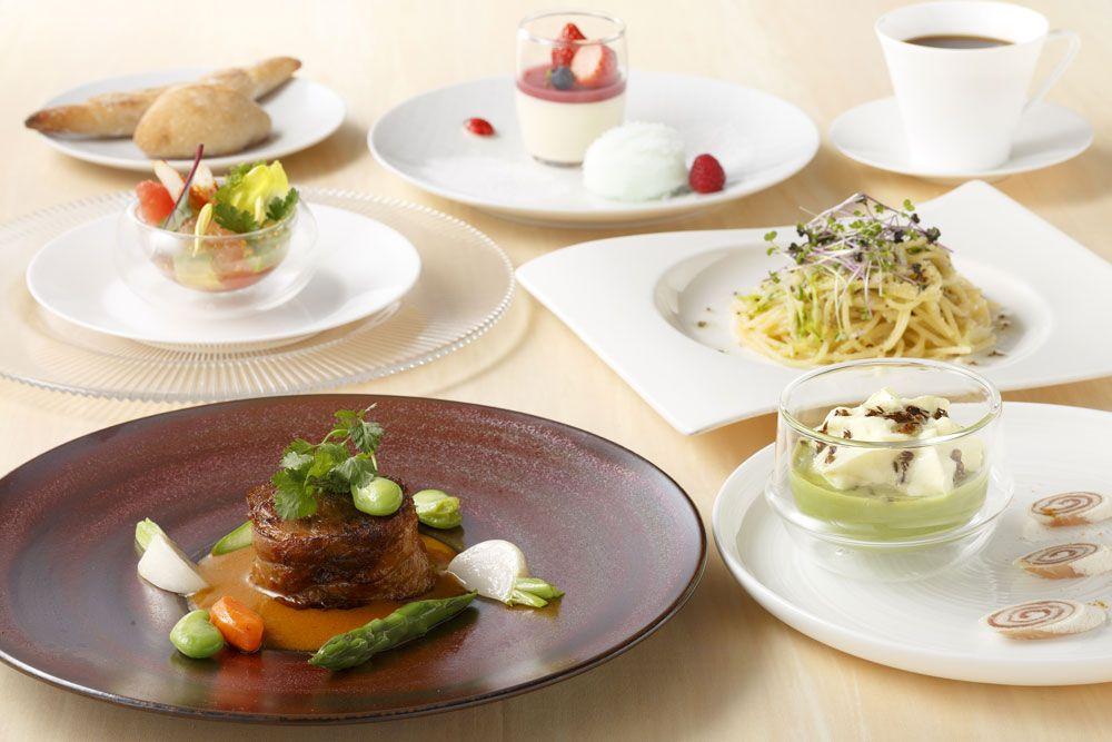 「羽田エクセルホテル東急」の朝食は朝5時からビッフェ方式!ランチ、ディナーも