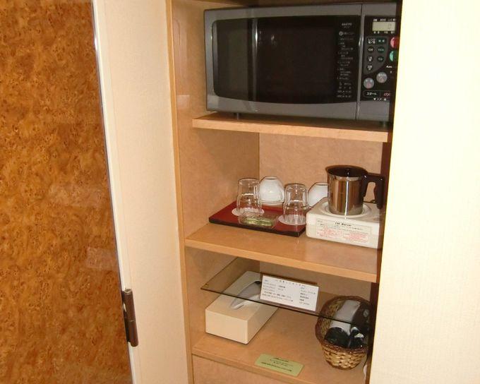 客室は6種類!全客室に電子レンジ完備!バリアフリー室も!