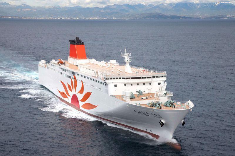 フェリーさんふらわあ新造船「さつま」で大阪から鹿児島・志布志へ!