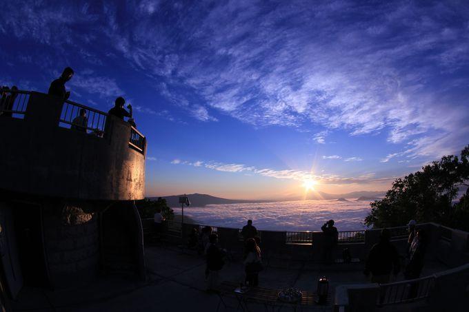 津別峠で雲海・星空を眺めるツアーも!
