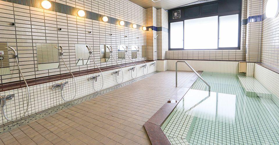 大浴場完備!コインランドリー多数設置!