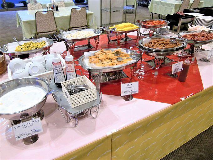 1階レストラン鳳翔は海鮮料理がうまい!朝食はバイキング!