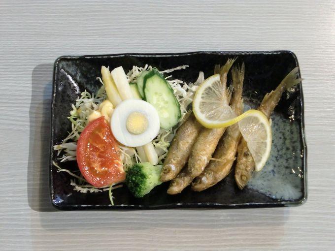 食事処たんぽぽは地元ホッキ・シシャモ料理がウマい!