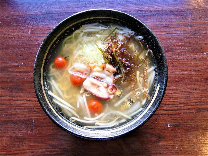 お食事処「旅篭(はたご)」は地元海産物がおいしい!