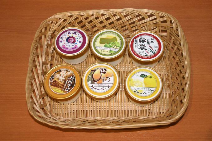 日本ミツバチの蜂蜜入り菓子に旬を閉じ込めた極上アイスも販売!