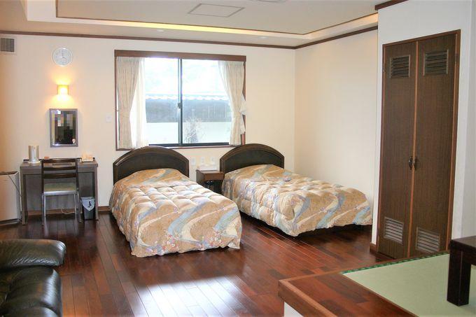 大人数での宿泊に最適なスローハウスの客室も!
