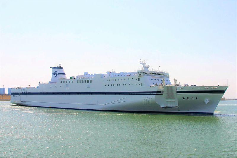 太平洋フェリー新造船・新「きたかみ」で北海道へ出かけよう!