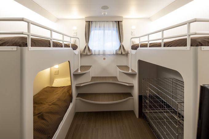 1人部屋が登場!ペット利用客向けの部屋と設備も