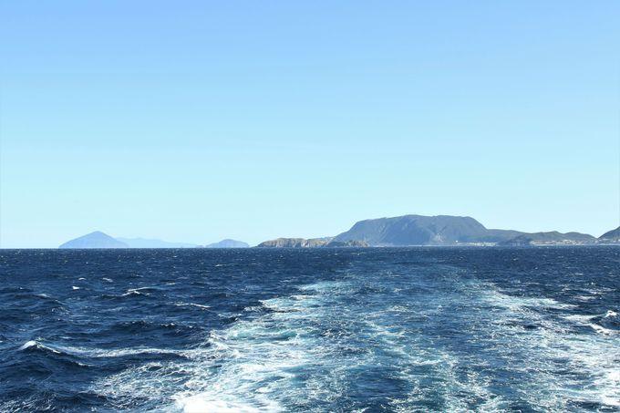 東京湾・伊豆諸島の景色変化が楽しい!週末は横浜寄港も