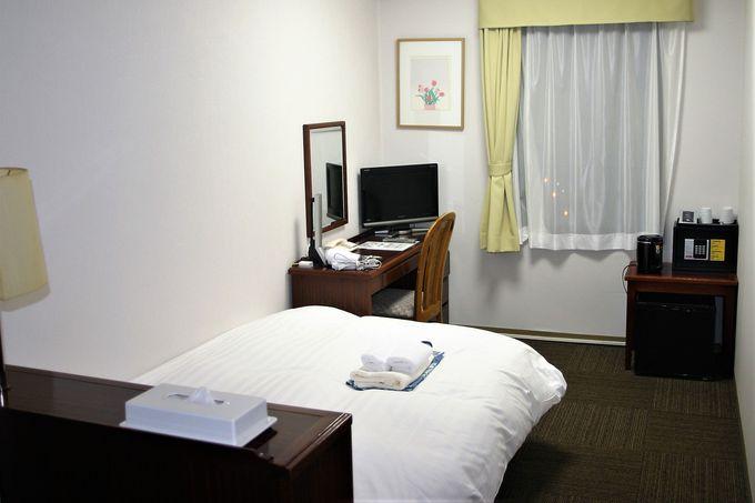 客室は6種類!2階女性大浴場はシャンプーバー付き