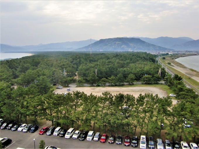 虹の松原、松浦川、唐津城の眺めが素晴らしいホテル!