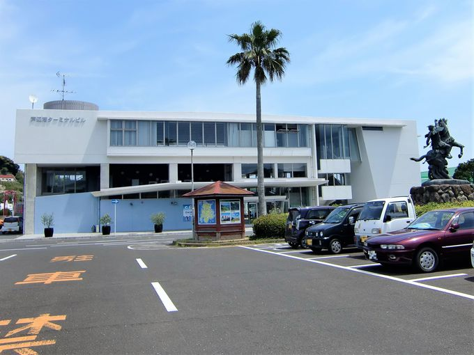 芦辺港は2か所のターミナル!ウニ土産は北海道に負けないぜ