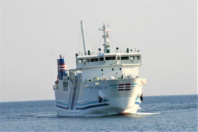 印通寺港は佐賀県唐津港との玄関!2019年に新造船就航