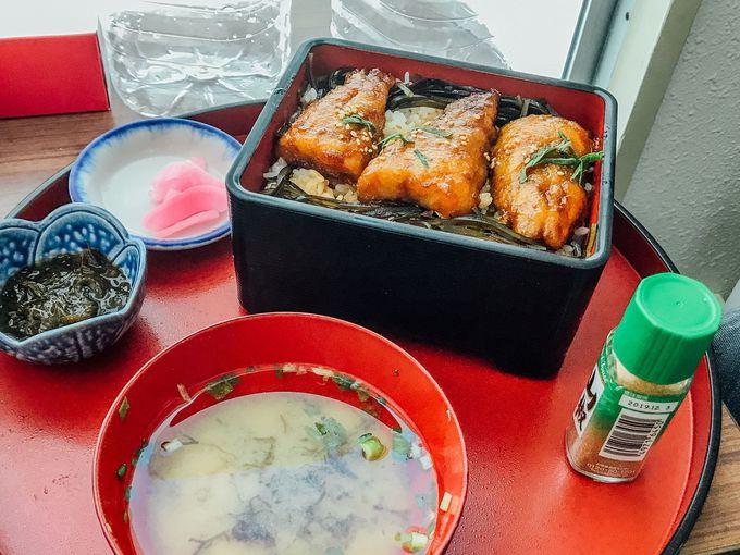 2階飲食店「武ちゃん寿司」は海産メニューが充実!