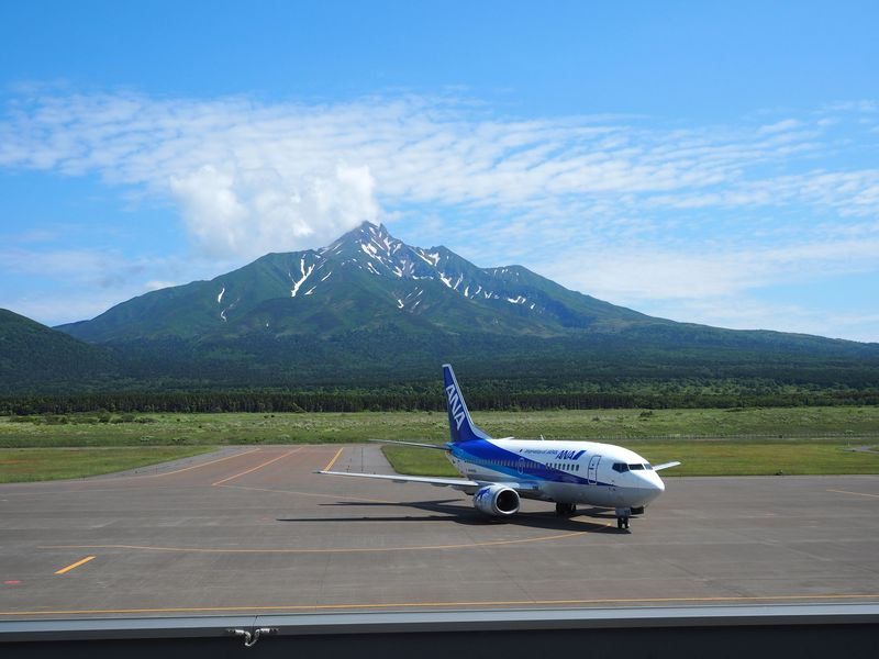 北海道利尻空港は素晴らしい眺め・グルメがある島の玄関!
