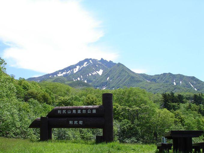 利尻山5合目にある眺めが素晴らしい展望台「見返台園地」