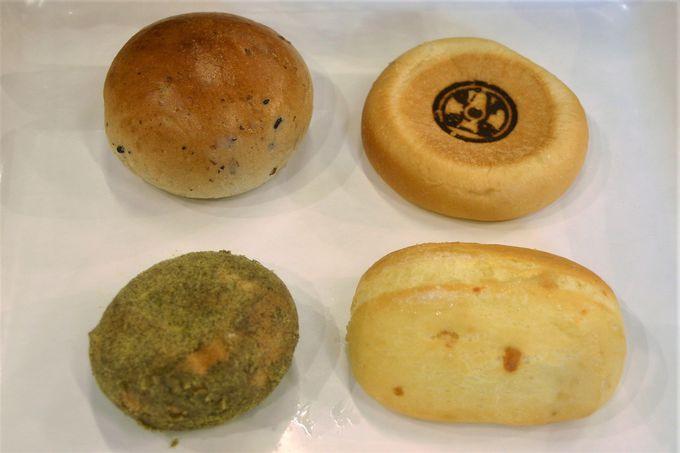ベーカリー、特産品も地元産の食材使用の土産・製品が充実!