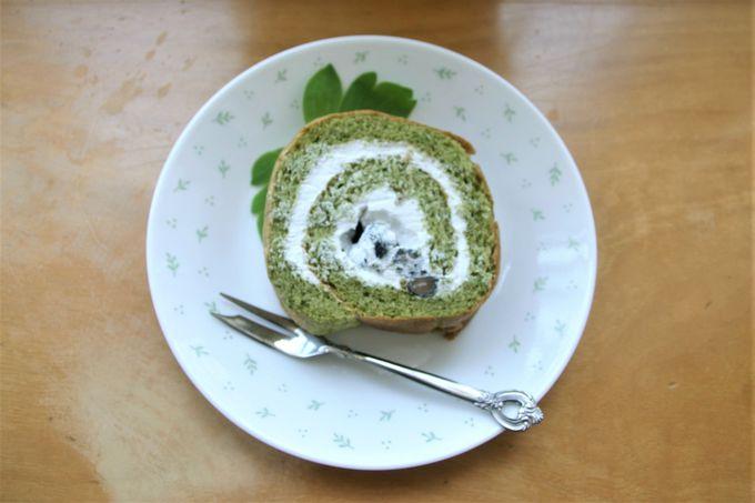 長命草ロールケーキがデザートに最適!レストラン「旅果報」