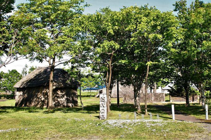 遺跡からの発掘資料も展示!併設の「苫前町考古資料館」