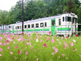 北海道新十津川町は1日1往復の終着駅!温泉に記念館も