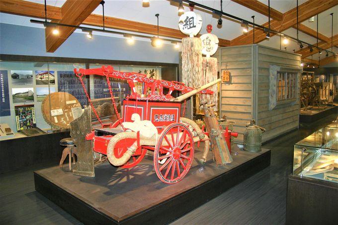 道の駅おびら鰊番屋観光交流センターは歴史を展示中!売店も