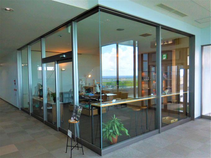 2階「風人カフェ」は展望デッキそばにあるグルメカフェ!
