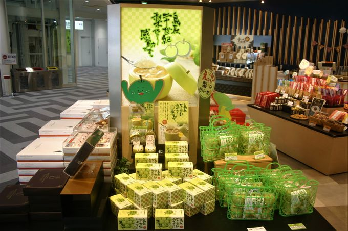 鳥取大丸エアポートショップは「因幡の白うさぎ」寿製菓直営店!
