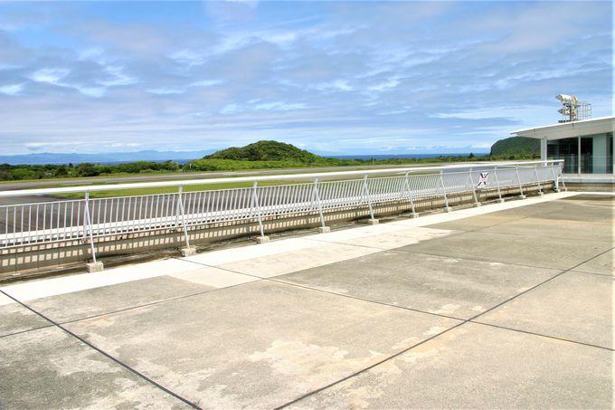 大島空港の概要と展望デッキからの景色について