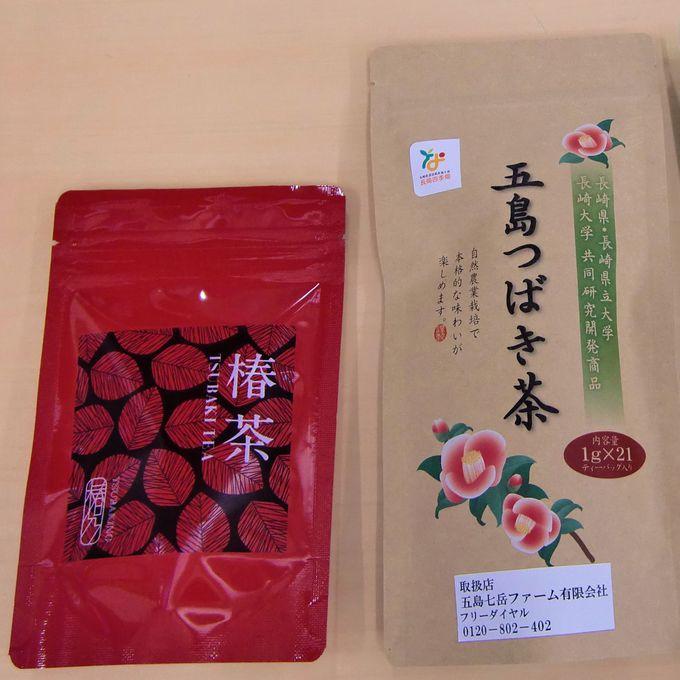 福江空港売店には定番の五島うどんや椿土産がいっぱい!