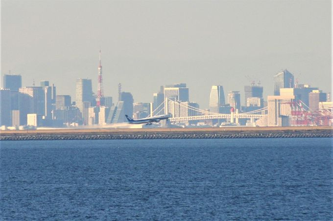 羽田空港が特におすすめ!東京湾岸や島々を眺めよう