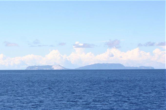 船だけ!レインボーブリッジ下&伊豆諸島の景色「橘丸」