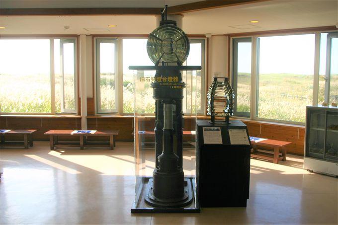 ヴィジターセンターは眺め良好!石狩灯台の歴史が学べる