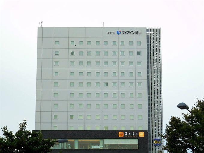 岡山駅そばにあるホテル!駅コンコース・西口バス乗場すぐ