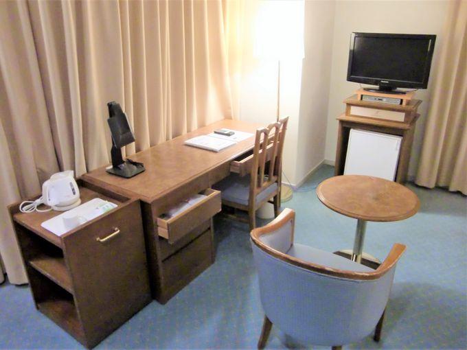 南欧風のゆとりある客室!高層階からの眺めもおすすめ